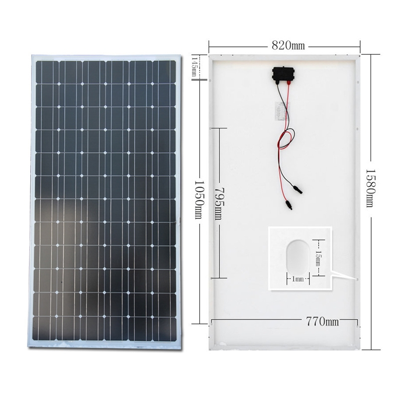 双玻单面光伏太阳能电池板