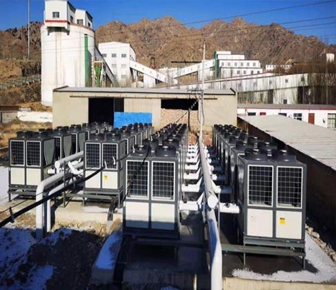 地产精装修空气能热水器